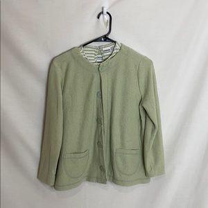 Chico's Button Up Sweatshirt 3/30